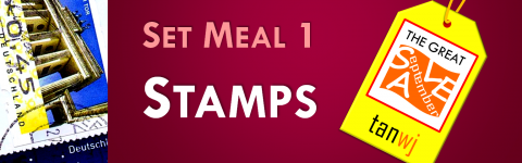 Set Meal 1: Stamps