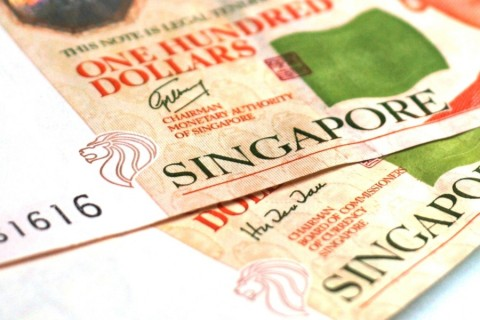 New S$100 Singapore Banknotes signed by Goh Chok Tong