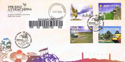 Registered First Day Cover - Singapore-Indonesia Joint Issue (2009)